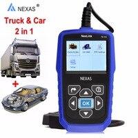 NEXAS универсальный грузовик сканер дизельный двигатель для VOLVO NexLink NL102 OBD2 тяжелых анализатор инструмент диагностики автомобилей Грузовики 2