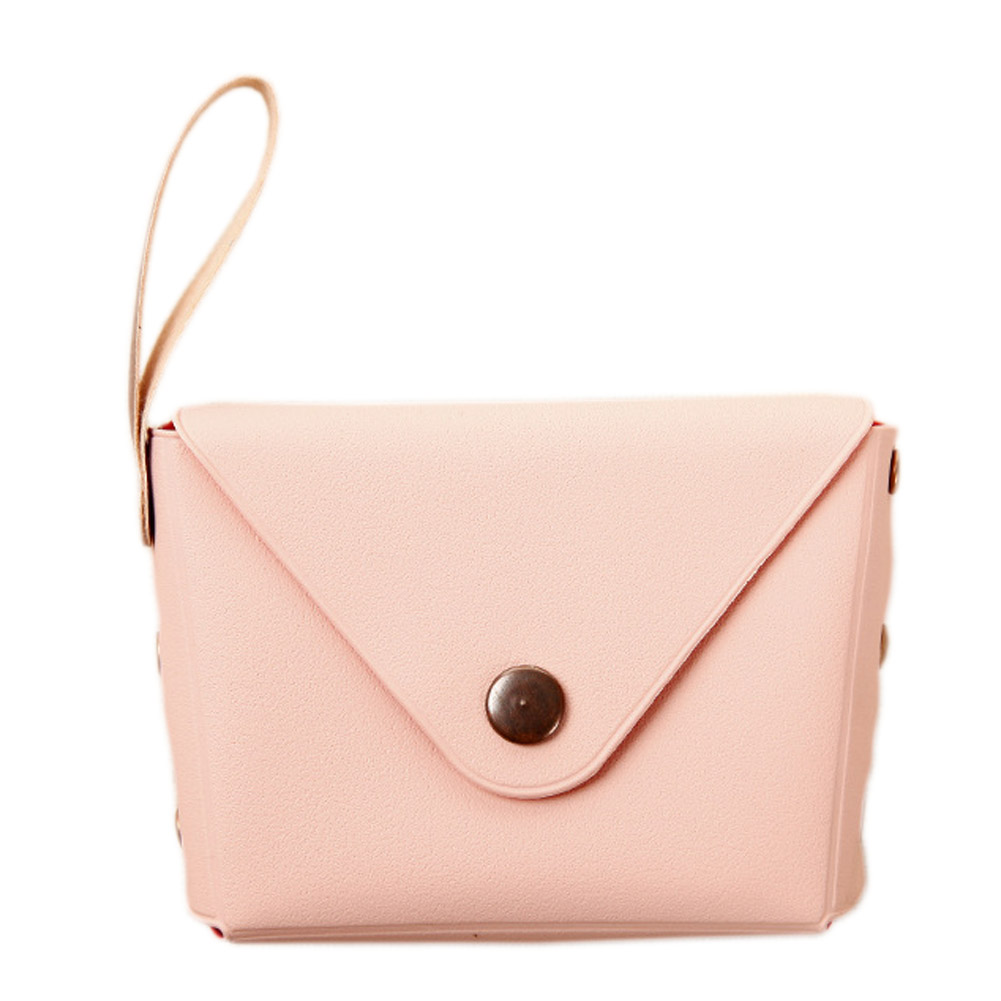 Women Girl Ladies PU Leather Storage Bag Women Small Change Purses Purse Wallet Fashion Casual Money Case Bow Serie Coin