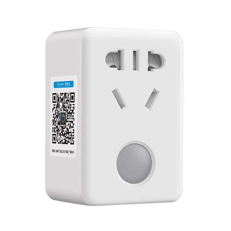imágenes para BroadLink Mini SP 3 Wifi Inalámbrico Socket, Casa Inteligente de LA UE/REINO UNIDO/EE.UU. de Energía Inteligente Sokcet Enchufe con temporizador de Control Remoto Para IOS Android