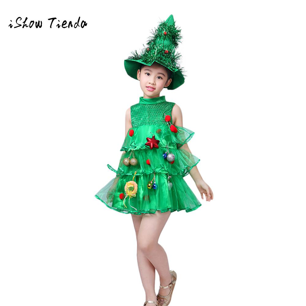 Christmas girl dresses princess costume Toddler Kids Baby Girls Christmas Tree Costume Dress Tops Party Vest+Hat Outfits-in Dresses from Mother u0026 Kids on ...  sc 1 st  AliExpress.com & Christmas girl dresses princess costume Toddler Kids Baby Girls ...