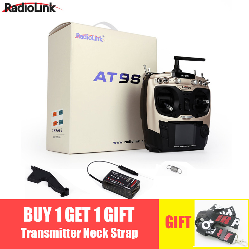 Radiolink AT9S R9DS système de télécommande Radio DSSS FHSS 2.4G 10CH récepteur émetteur pour Rc quadrirotor
