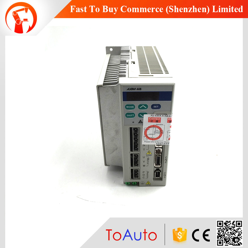 Delta AC Servo Drive AB Series ASD-A0721-AB 220V 1 phase 750W 0.75KW New New original Matching for Delta servo motor new original 220v 200w 3 axis mr j4w3 222b ac servo drive