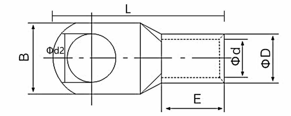 10 Uds SC6 SC10 SC16 terminales desnudos terminales de cobre estañado anillo sello alambre conectores Cable desnudo Crimped/Soldado Terminal surtido Kit