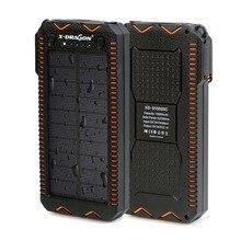 15000 мАч Запасные Аккумуляторы для телефонов солнечная внешний Батарея Электрический Авто-прикуриватели Запасные Аккумуляторы для телефонов для iPhone 5 5S SE 6 6S 7 Samsung LG телефоны и т. д.