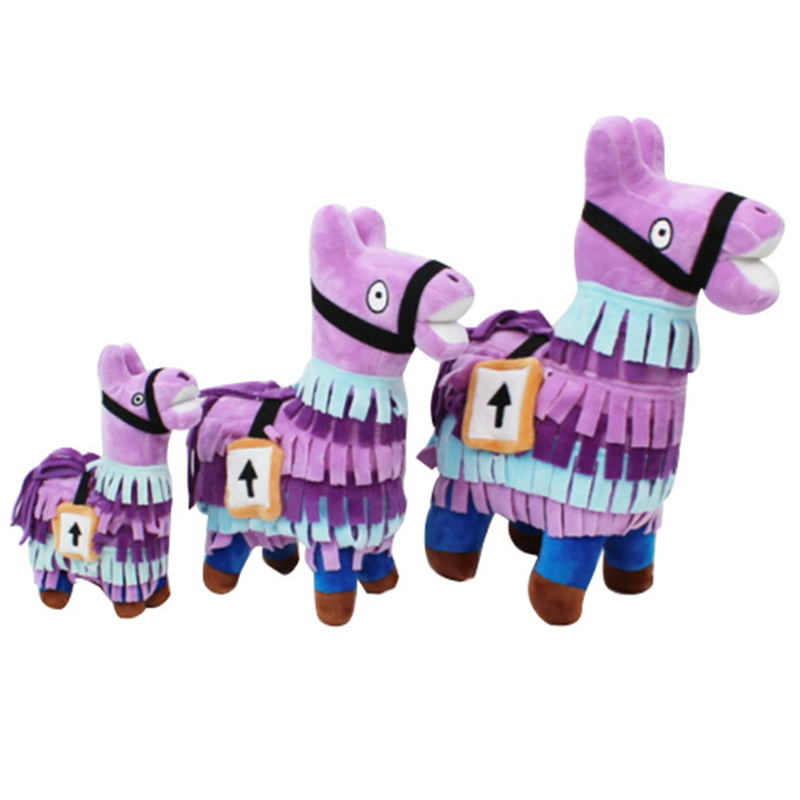 Sale Game Llama Action Figure Toy Collection for Children Infant Soft Plush Stuffed Cartoon Figure Toys for Kids Gifts