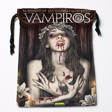 Fl Q77 New Vampiros 3 Custom Logo Printed receive bag Bag Compression Type drawstring bags size