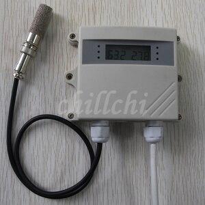 Image 3 - Waterdicht, hoge temperatuur en vochtigheid sensoren, zenders, industriële grade agrarische outdoor kas, wandmontage