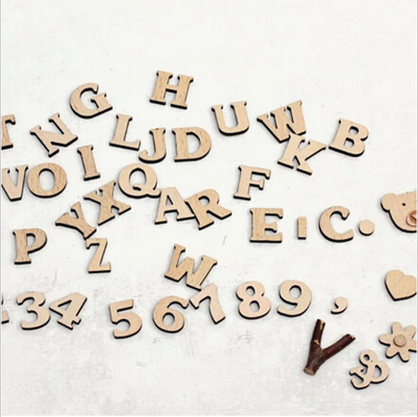 small wood alphabet letters wall sign hanging name room