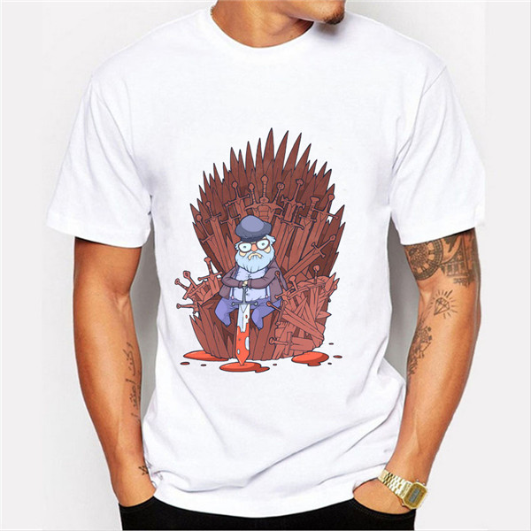 T-shirt-Men-2016-Fashion-Game-of-Throne-Design-Tee-Shirt-Funny-Totoro-on-the-Trone