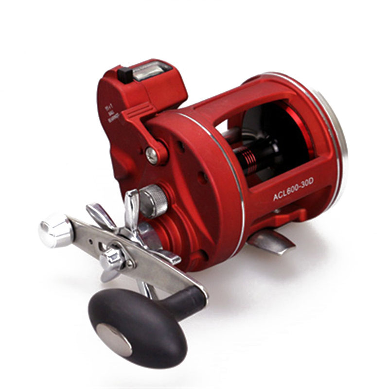 Trolling Reel Fishing ACL600-30D Black Right Hand Casting Sea Fishing Reel Saltwater Baitcasting Reel Coil Moulinet Casting