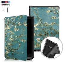 Amazon PocketBook Touch Lux 4/627 616 632 용 범용 케이스 커버 Wake Sleep Print Flip Leather Fundas