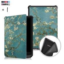 Universal Fall Abdeckung Für Amazon PocketBook Touch Lux 4/627 616 632 Wake Schlaf Druck Flip Leder Fundas
