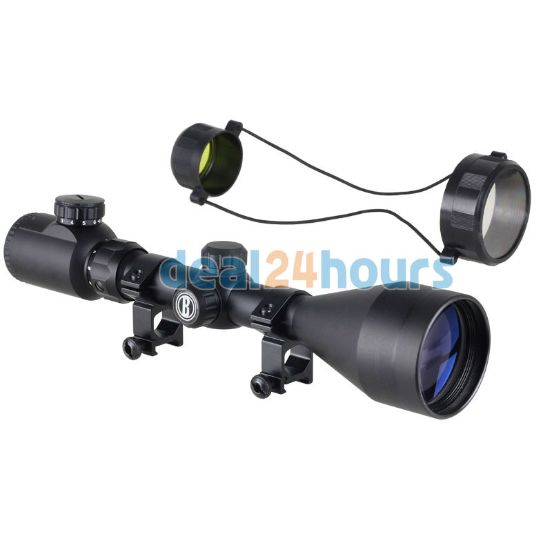 цены  New 3-9x56E Red Green Air Rifle Gun Mil-dot Illuminated Optics Sniper Hunting Scope Free Shipping