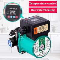 100W 165W Automatic Central Heating Circulating Pump 220V Household Heating Hot Water Circulation Pump ultra-quiet booster Pump