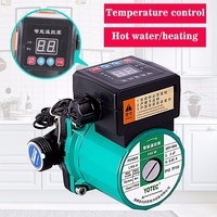 100W 165W Automatic Central Heating Circulating Pump 220V Household Heating Hot Water Circulation Pump ultra quiet booster Pump