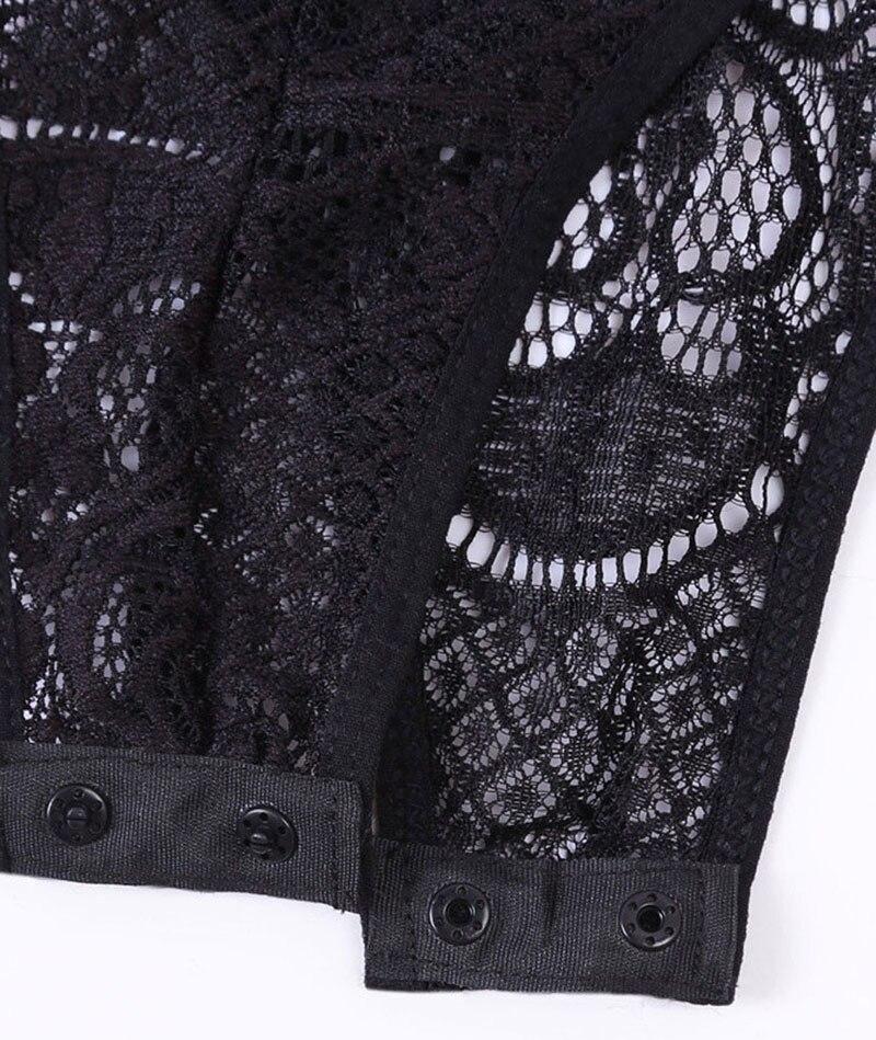 Black-V-Neck-Hollow-out-Lace-Bodysuit-LC32247-2-17