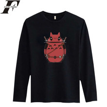 LUCKYFRIDAYF Totoro in Deadpool Black 3xl Funny T-shirts and Shirts and Dead Pool White T Shirt Men in Long Sleeve Cotton Tees