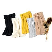 New 2019 Korean women skirt sexy summer streetwear pleated knitted  jupe femme A D379
