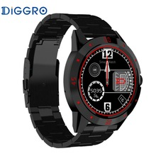 2017 Diggro DI02 DI02 Smartwatch Bluetooth 4.0 MTK2502C Heart Rate Monitor Pedometer Sleep Monitor Wristwatch For Android & IOS