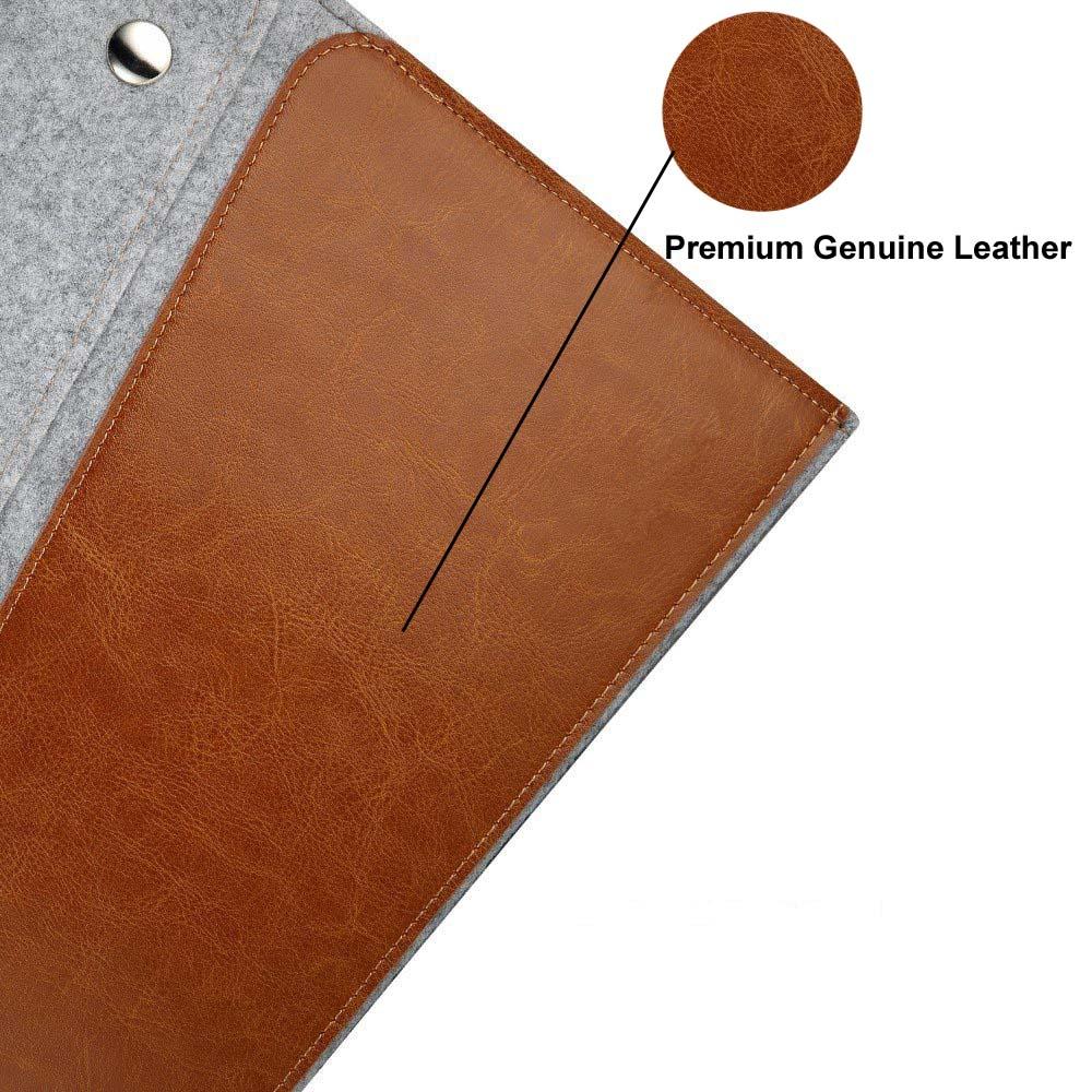 Funda de piel genuina cubierta para microsoft surface pro1 2 3 4 12 - Accesorios para tablets - foto 4