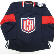 6d0d32d6ed9 2016 TEAM USA Hockey Jersey Embroidery Stitched Customize any number and  name Jerseys(China)