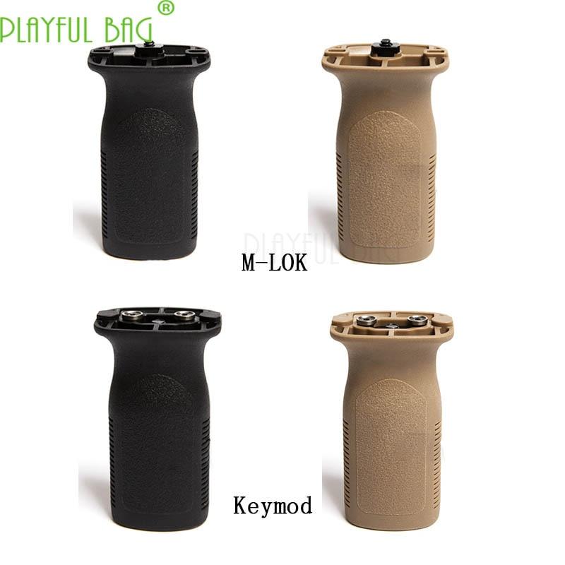 Outdoor activity CS Keymod direct grip M-LOK tactical front grip toy gel water bullet gun refitting parts lovers best gift LI45(China)