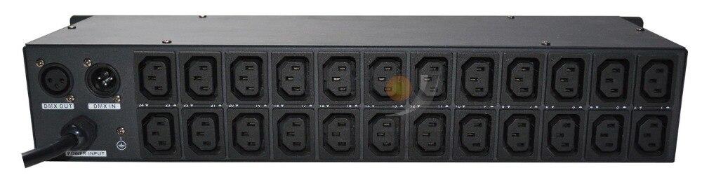DMX commutateur pack 12 canaux commutateur sortie avec Triac pour l'éclairage de scène