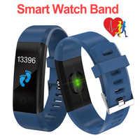 Attività Inseguitore di Fitness Smartband Braccialetto di Sport Del Braccialetto di Salute di Frequenza Cardiaca Misuratore di Pressione Sanguigna Intelligente