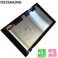 FIX2SAILING LCD Display Digitizer Sensor Glass Panel Assembly Replacement For Sorry Xperia Tablet Z2 SGP511 SGP512