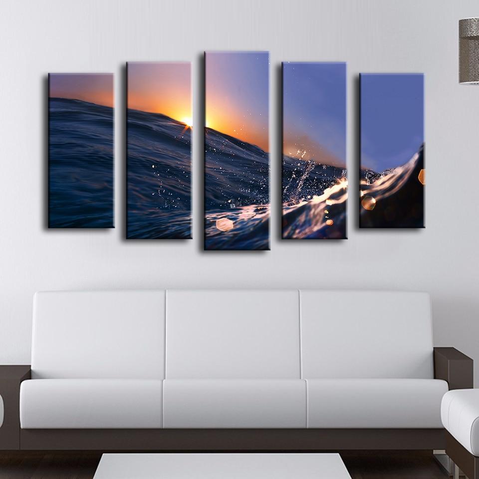 Online kopen wholesale zonsondergang blauw uit china zonsondergang ...