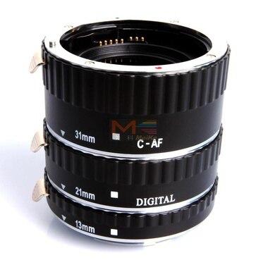 Meike MK-C-AF-A Tube d'extension en métal AF pour appareil photo Canon EOS - 3