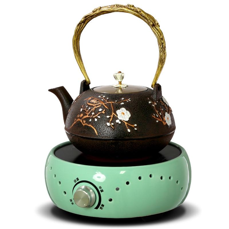 AC220 240V 50 60 hz mini estufa de cerámica eléctrica hervidor de té calefacción café 800 w calentador de café olla