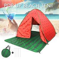 Beach Summer Waterproof Sun Shelter Tent for Outdoor UV Tarp Automatic Beach Tents for Camping Outdoor Tent