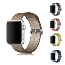 Newest Official2 Woven Nylon strap watch band For Apple Watch nylon 38mm 42 mm Wrist bracelet apple smart watch strap watchband