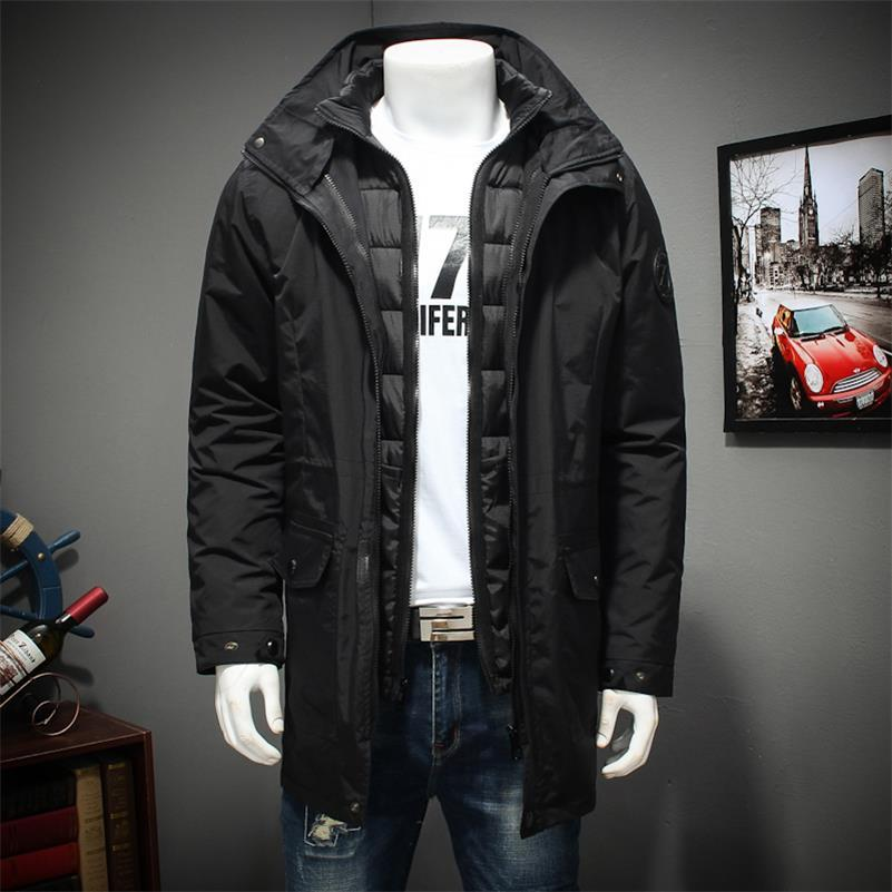 large size 8XL 7XL Winter jacket Men The liner is removable Thick Coat Thermal Warm Windproof Hood Jackets Mens Outwear Parka new 2017 men winter black jacket parka warm coat with hood mens cotton padded jackets coats jaqueta masculina plus size nswt015