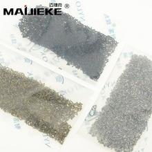 MAIJIEKE 2000 ADET Pentalobe Alt Vidalar iPhone 6G 6 Artı 6 S Artı 7G 7 Artı 5 5 S 5 S 5 Nokta Yıldız Vida Gümüş Altın Siyah