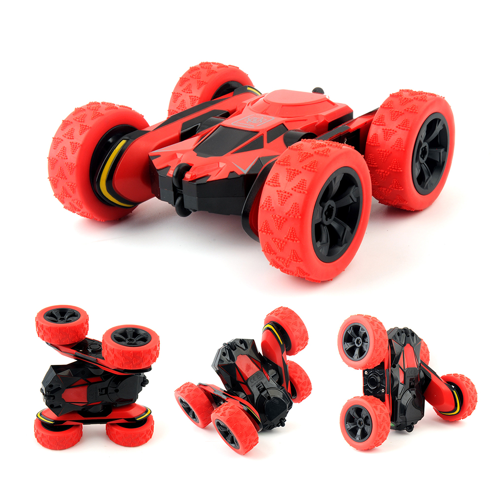 HB 1/28 RC Stunt Voiture 2.4 ghz RC Voiture Télécommande, hors Route Électrique Course Double Face 360 RTR jouets pour enfants Cadeau