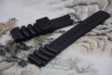 Replacement Rubber Diver silicone Watch Strap for seiko 22mm 20mm KINETIC SKA293J2|SKA291J1