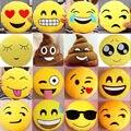 32 cm Precioso Smiley Emoji Emoticon Suave Peluche de Felpa Cojín Redondo