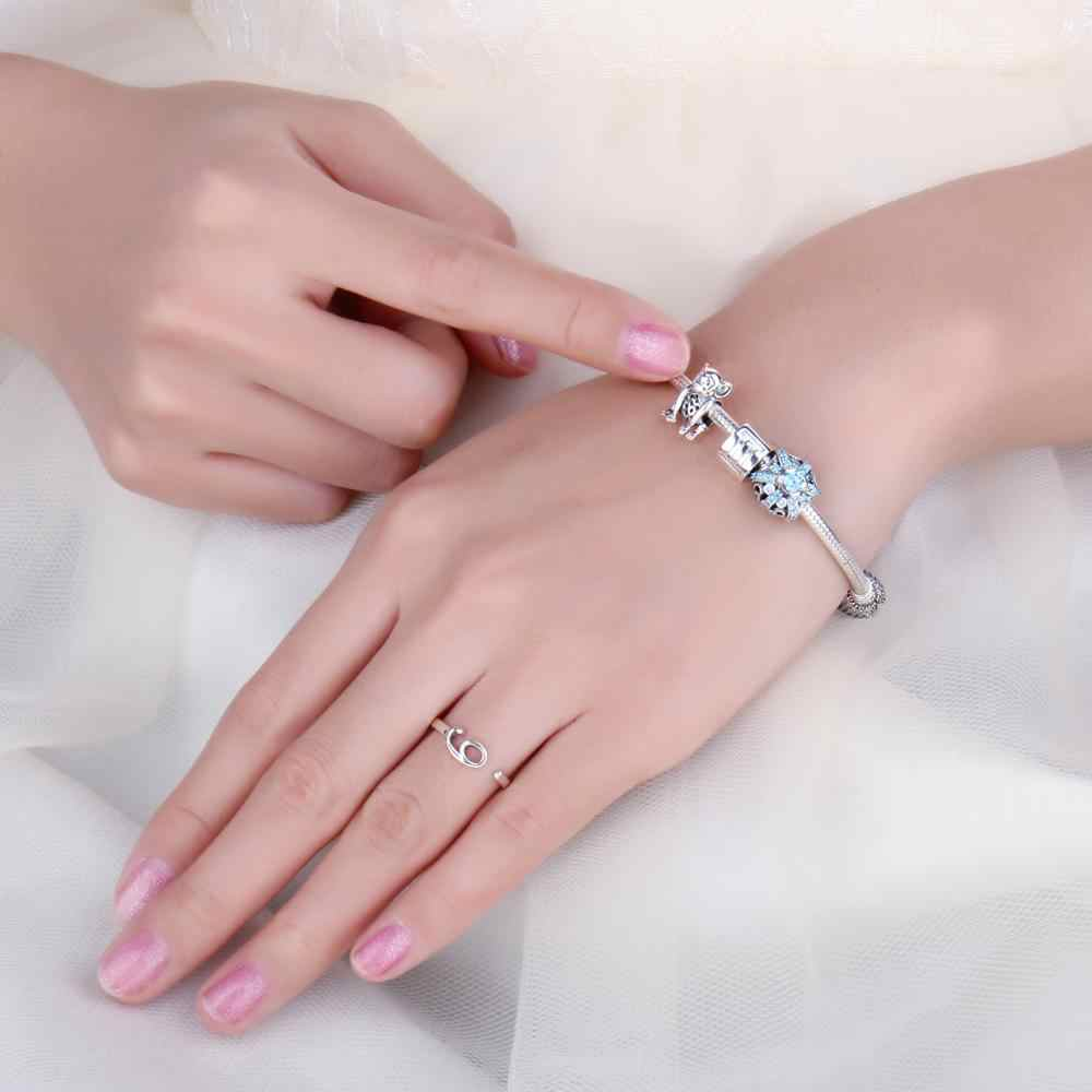 Jewelrypalace 925 prata esterlina monkey grânulos encantos prata 925 original apto pulseira de prata 925 contas originais jóias fazendo