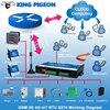 תעשייתי IOT Gateway 3 גרם 4 גרם סלולארי IoT Modbus RTU Slave/מאסטר 1 RS485 תומך 80 אני/ O תגים SMS מעורר בקר S273