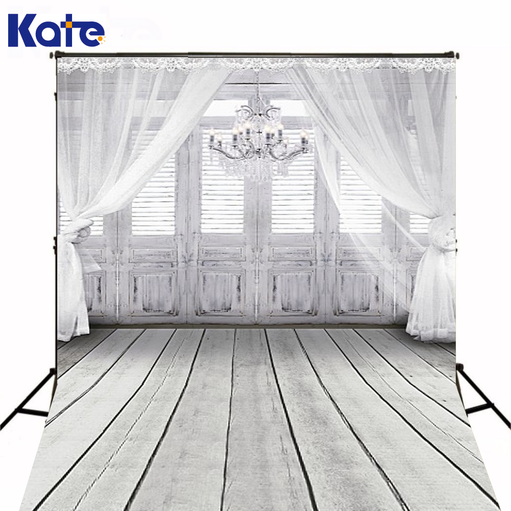 KATE 10X10FT White Stage Background Wedding Photography Backdrops Festival Background Studio For Photos Indoor Photo Backdrop white stage background snow pine snow blue sky festival background wedding photography backdrops