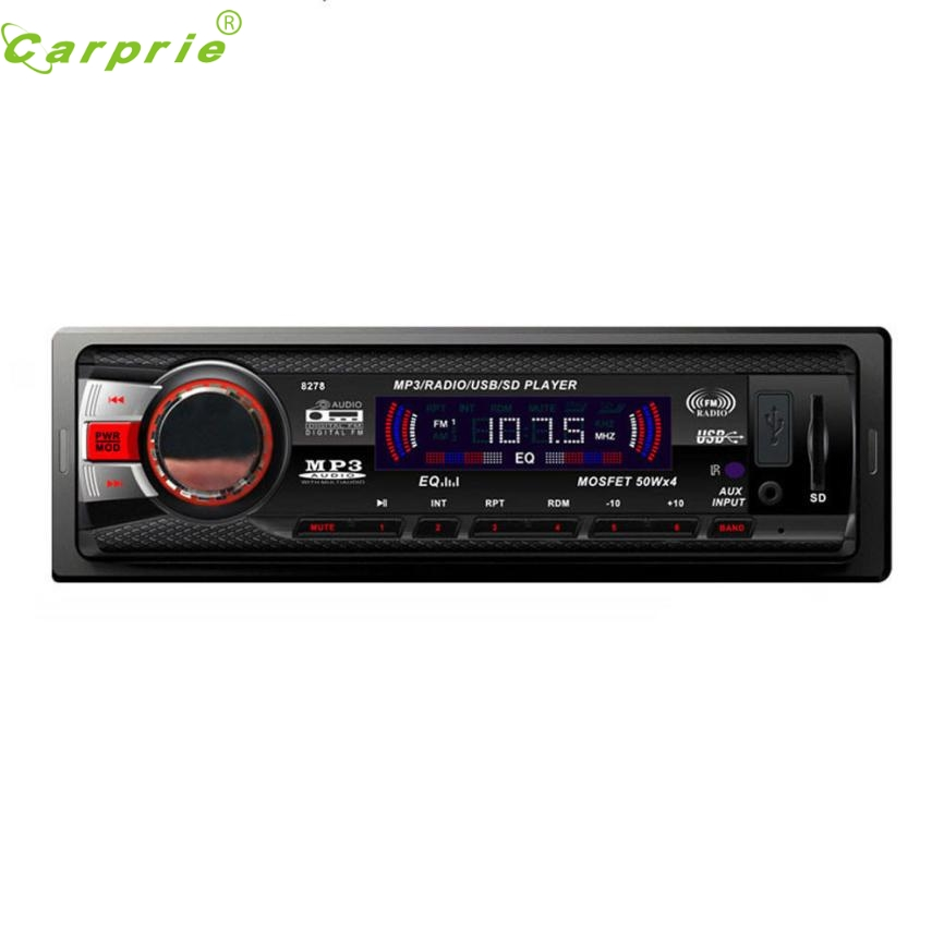 New In Dash Car Audio Bluetooth Stereo Head Unit MP3/USB/SD/AUX/FM Input AUX Ap5