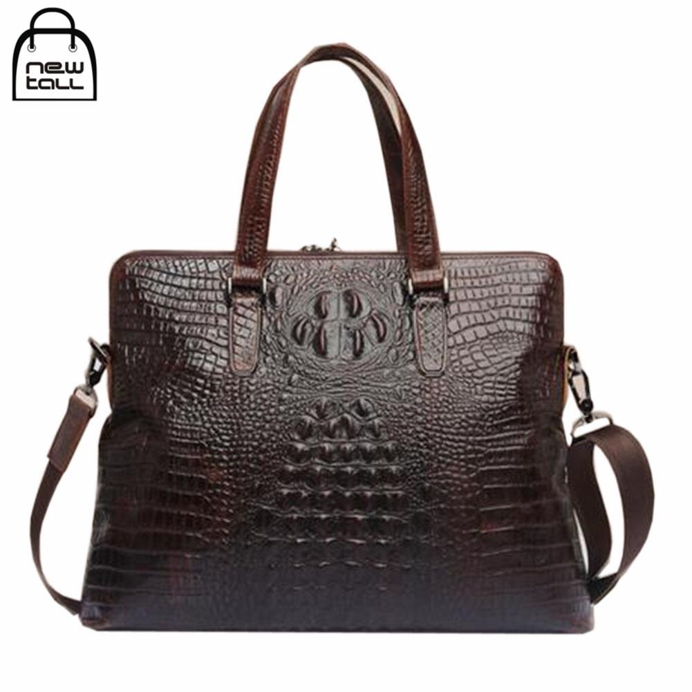 ФОТО [NEWTALL] 2017 Fashion High Quality Hot Sale Men's Genuine Leather Message Handbag Men's Gift Free Shipping B1055