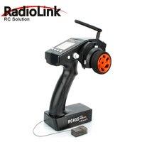 RadioLink RC4GS 2.4G 4CH RC Car Controller Transmitter w R6FG Gyro Inside Receiver for 4 Channel RC Car Boat Controller