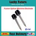 10 Pares/lote EI-14 Eletrodo Eletrodo de Barra Para ILSINTECH Splicer Fusão de Fibra Óptica Swift-S1 Cabo De Máquina De Solda de Fusão