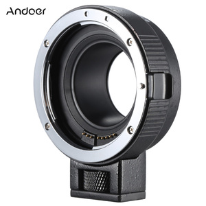Image 2 - Andoer EF EOSM anneau adaptateur pour monture dobjectif pour objectif de la série Canon EF/EF S vers EOS M EF M M2 M3 M10 Support du corps de lappareil photo stabilité de limage