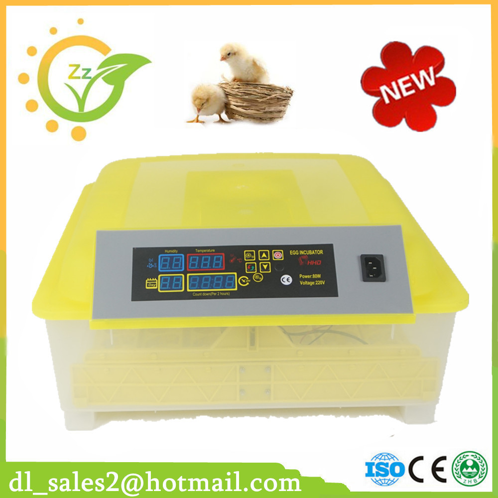 Full automatic egg incubator for home use 48 chicken eggs more than 96% hatching rate CE approved top selling high quality full automatic 96 mini chicken egg incubator with high hatching rate