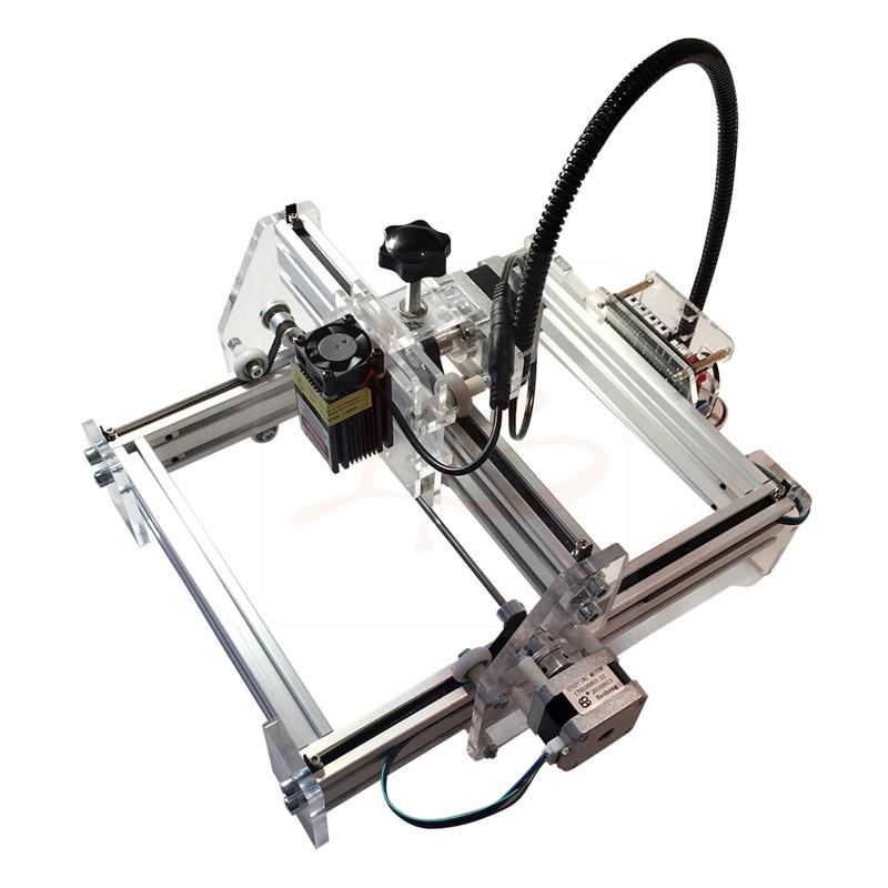500mW Desktop DIY LY 2017 Laser Engraving Machine, laser cutting machine 20*17CM 500mw 1000mw 2500mw 5500nw diy violet ly m1 laser cutting machine work area 100 100cm