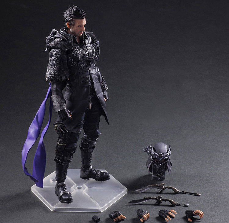 Play Arts KAI Nyx Ulric Figure Final Fantasy VII Squall Figure PA Play Arts Kai 27cm PVC Action Figure Doll Toys play arts final fantasy figure final fantasy vii sephiroth figure pa play arts kai cloud strife 27cm pvc action figure doll toys